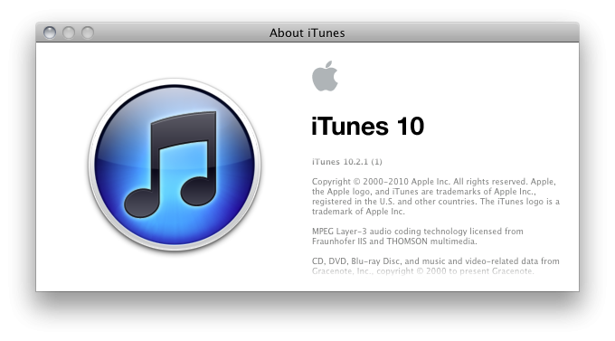 Download iTunes 10.2.1 - OK for Jailbreaking, AFC2, Shift ...