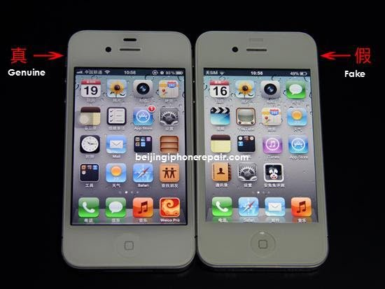 iphone 4s fake 1 Genuíno ou falso? A pirataria cada vez mais avançada