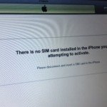 Fix Factory Unlocked iPhone 3GS 'No SIM Card Installed' Error After iOS 6 Update