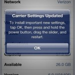 How to Update Verizon iPhone 5 Carrier Settings to Fix High Data Consumption