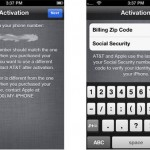 How to Activate iPhone 4S or iPhone 5 that Needs Zip and Social Security Number SSN