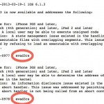 Apple Credited Evad3rs Hackers for Finding Untethered Jailbreak Exploits in iOS 6
