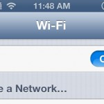 Temporary Fix for iPhone 5 Weak WiFi Signal or Connection Issue on iOS 6.x