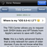 Saurik: iOS 6.x TSS SHSH Blobs in Cydia Can't Be Used to Upgrade or Downgrade iPhone 4