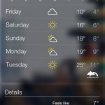 Yahoo's Weather App for iPhone is Absolutely Beautiful and Stunning – Must Download!