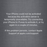 How to Fix Could Not Activate iPhone iTunes Error caused by Apple Database Blacklist