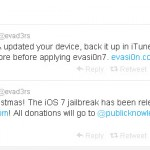Download evasi0n7: iOS 7 Untethered Jailbreak for iPhone, iPad and iPod Touch
