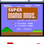 Play Nintendo NES Super Mario Bros Online on iPhone Safari Browser without Jailbreaking