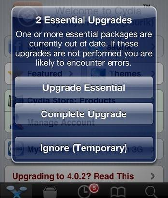 how to make iphone faster cydia