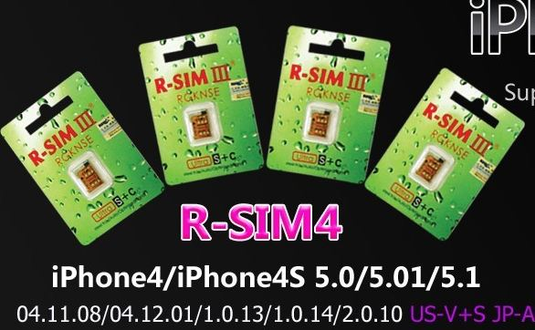 How to use r sim to unlock iphone 5