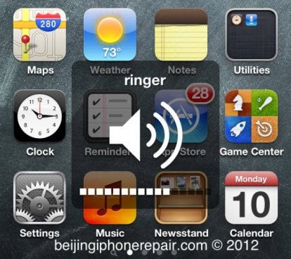 iphone ringer not working fix for iphone 4s volume or ringer missing bug on ios 5 1 1 6977