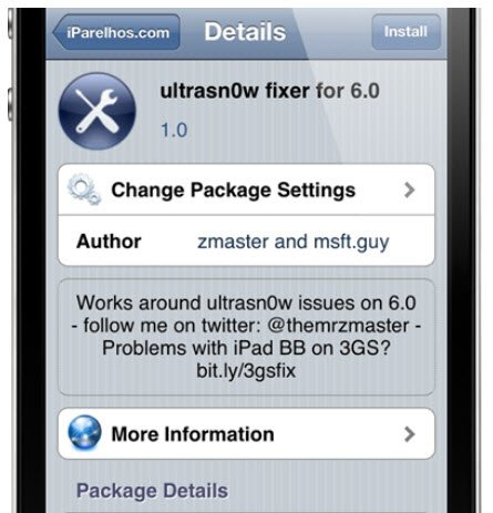 unlock iphone 4 and 3gs on ios 6 with ultrasn0w fixer patch old
