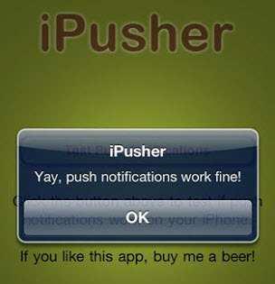ipusher-yay-push-notifcations-work