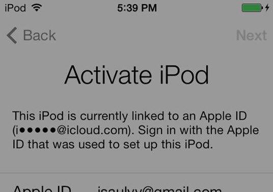 how to create an icloud email on ipad