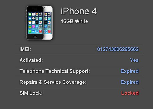 Iphone simlock status free