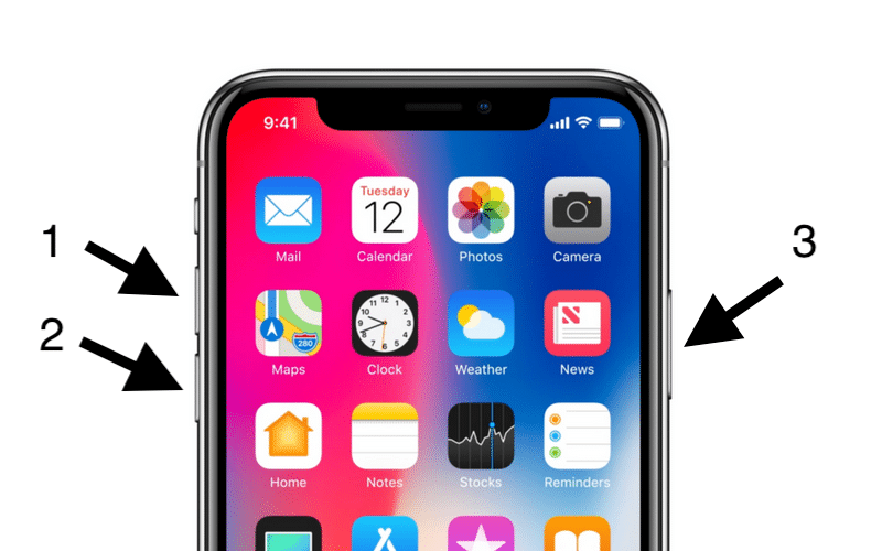 iPhone-X-Hard-Reset-Steps