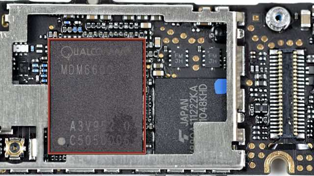 iPhone IMEI chip